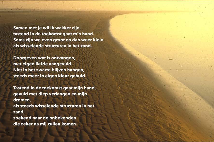 Structuren in het zand